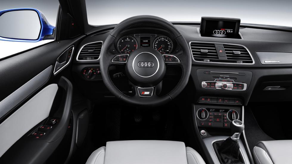 Audi Q3 2015 salpicadero
