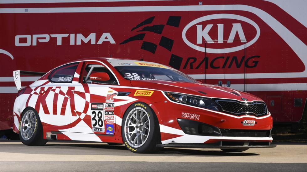 Kia Optima Pirelli World Challenge GTS 2014