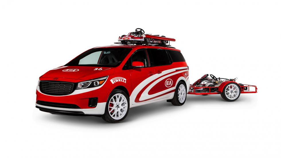 Kia Sedona Ultimate Karting