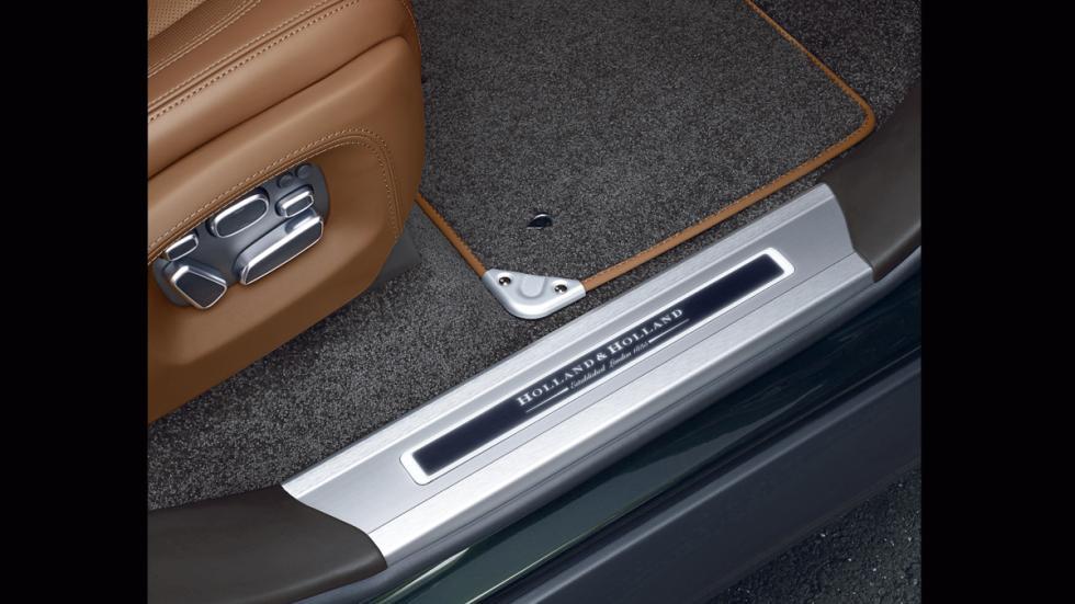 Range Rover Holland&Holland_LWB_umbral puerta