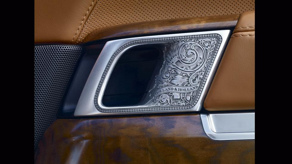 Range Rover Holland&Holland_LWB_manilla puerta