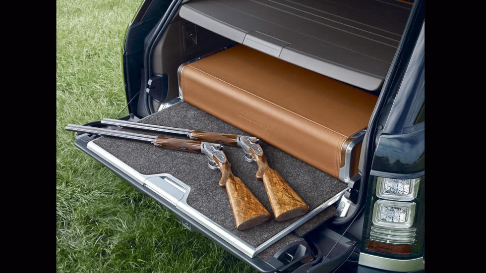 Range Rover Holland&Holland_LWB_maletero