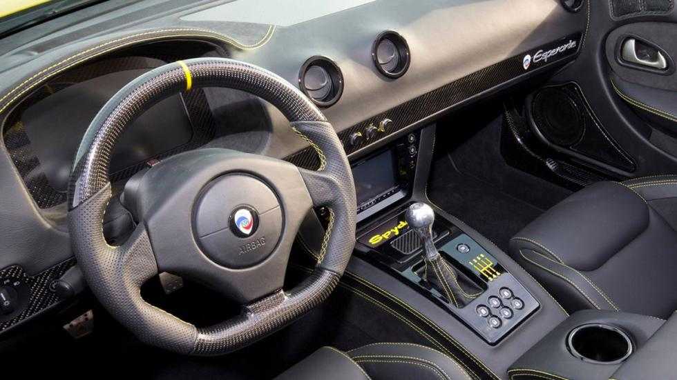 Panoz Esperante Spyder GT interior