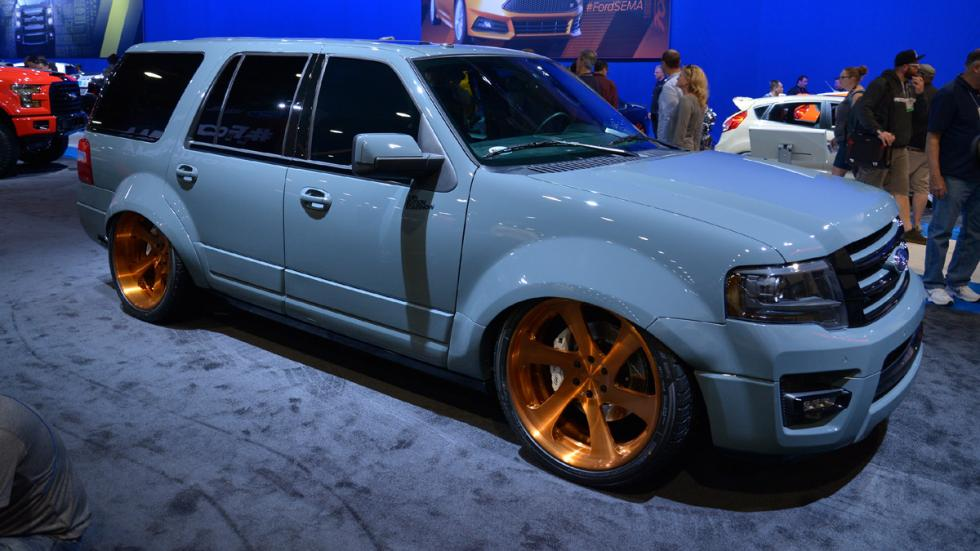 todoterrenos espectaculares SEMA 2014 Ford Expedition