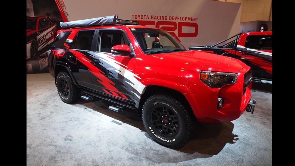 todoterrenos espectaculares SEMA 2014 Toyota 4Runner