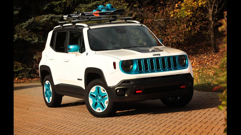 todoterrenos espectaculares SEMA 2014 Jeep Renegade