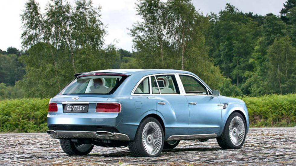 Bentley Falcon tres cuartos