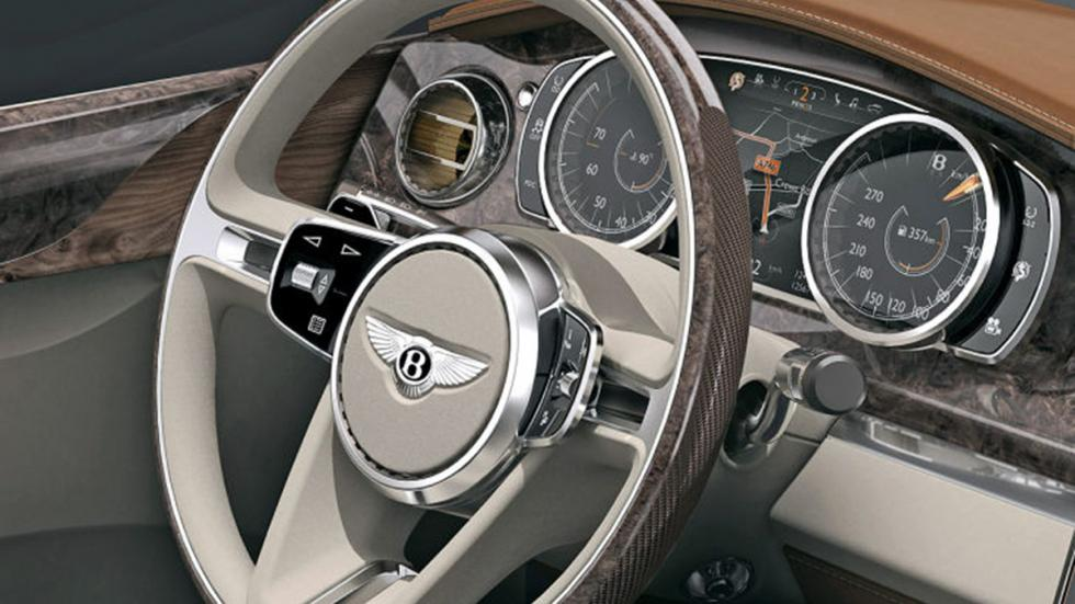 Bentley Falcon interior