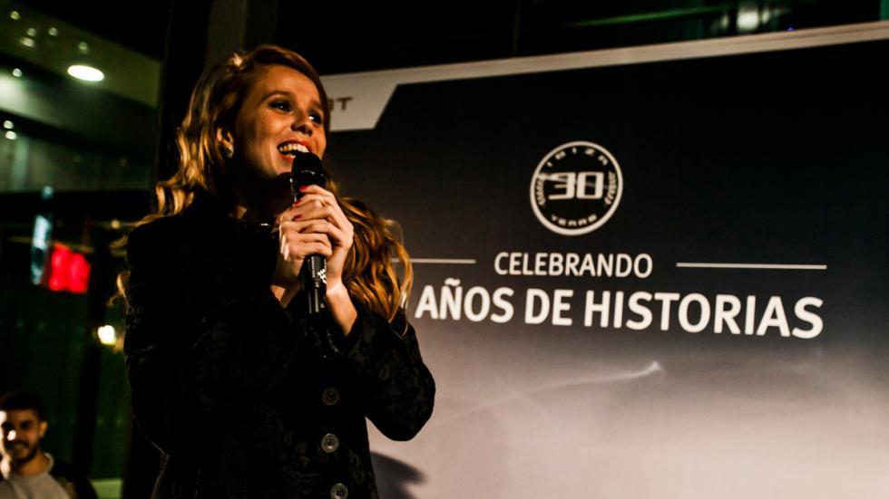 María Castro Fiesta de celebración del aniversario del  Seat Ibiza
