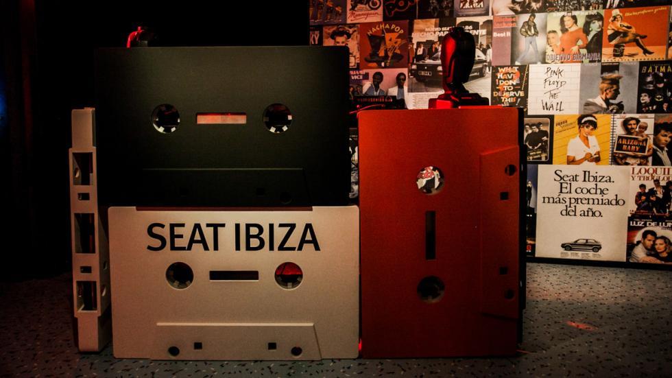 Fiesta de celebración del aniversario del  Seat Ibiza 3