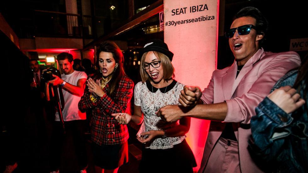 Fiesta de celebración del aniversario del  Seat Ibiza 7