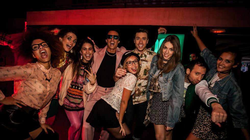 Fiesta de celebración del aniversario del  Seat Ibiza 10