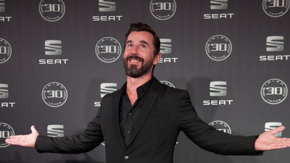 Fiesta de celebración del aniversario del  Seat Ibiza Santi Millán