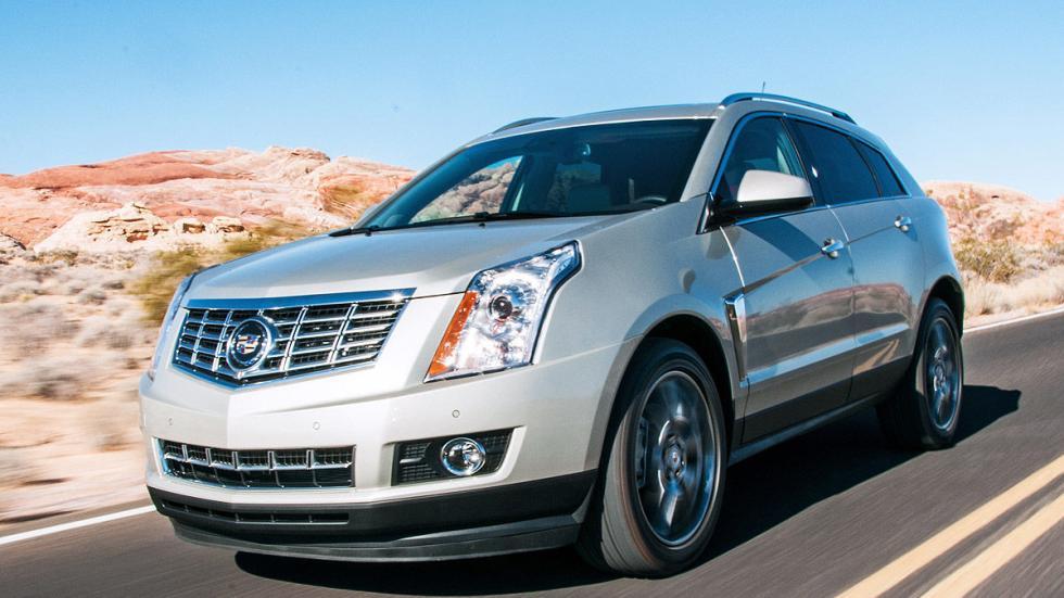 Prueba: Cadillac SRX, dinámica