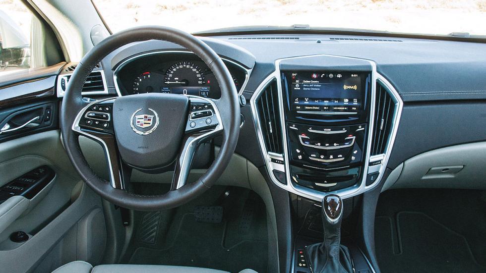 Prueba: Cadillac SRX, interior