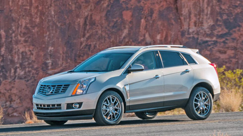 Prueba: Cadillac SRX, lateral