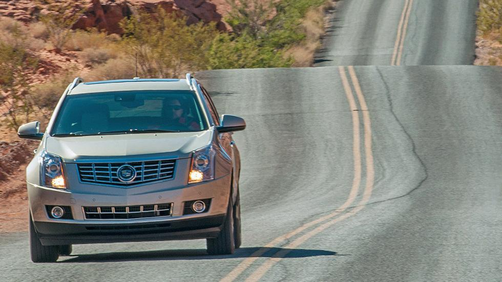 Prueba: Cadillac SRX, morro