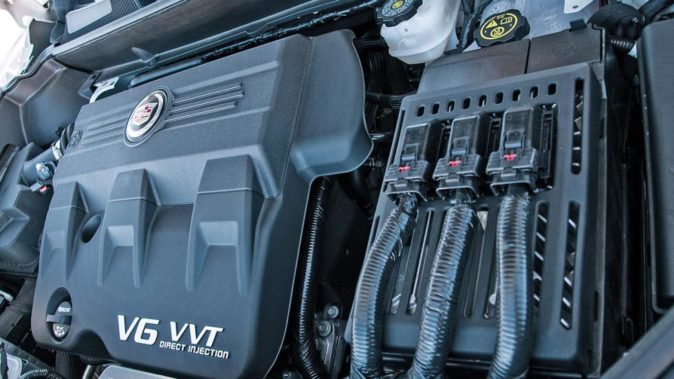 Prueba: Cadillac SRX, motor
