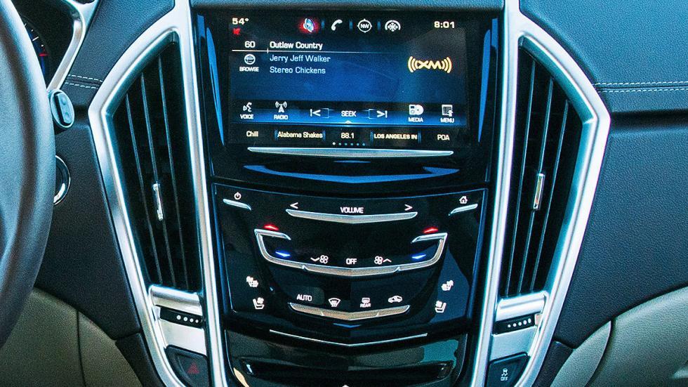 Prueba: Cadillac SRX, navegador