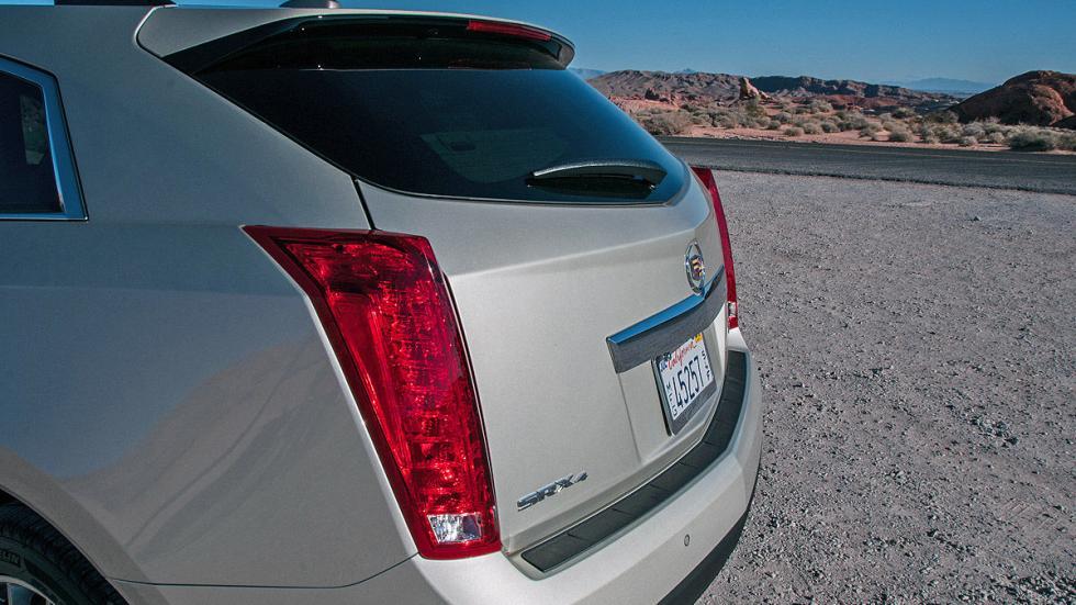 Prueba: Cadillac SRX, piloto