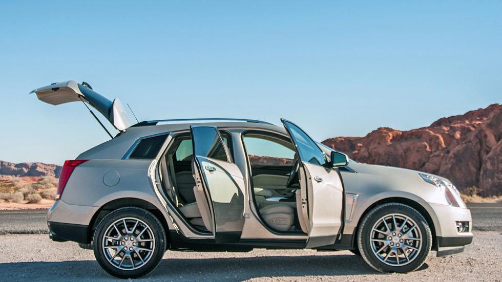 Prueba: Cadillac SRX, puertas