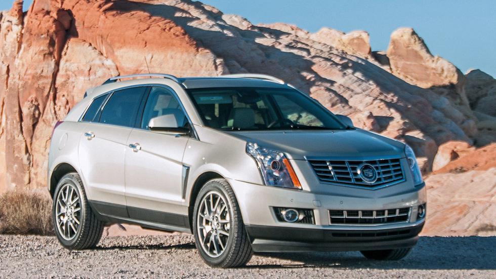 Prueba: Cadillac SRX, tres cuartos