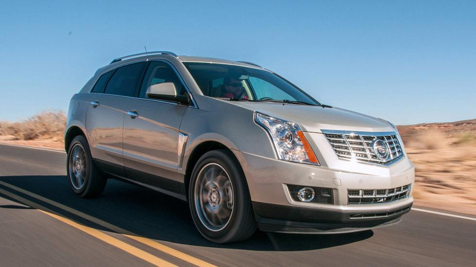 Prueba: Cadillac SRX, carretera
