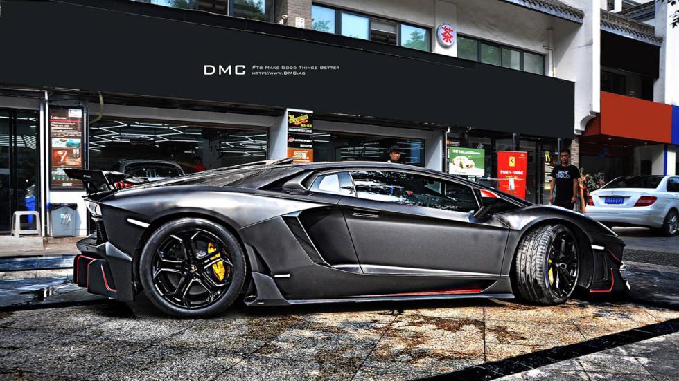 DMC Lamborghini Aventador LP988 Edizione GT lateral