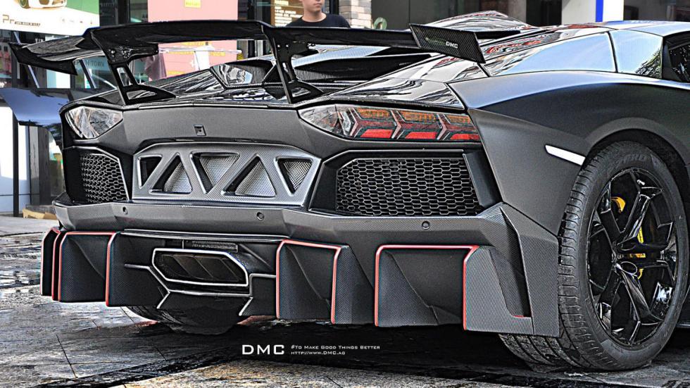 DMC Lamborghini Aventador LP988 Edizione GT detalle