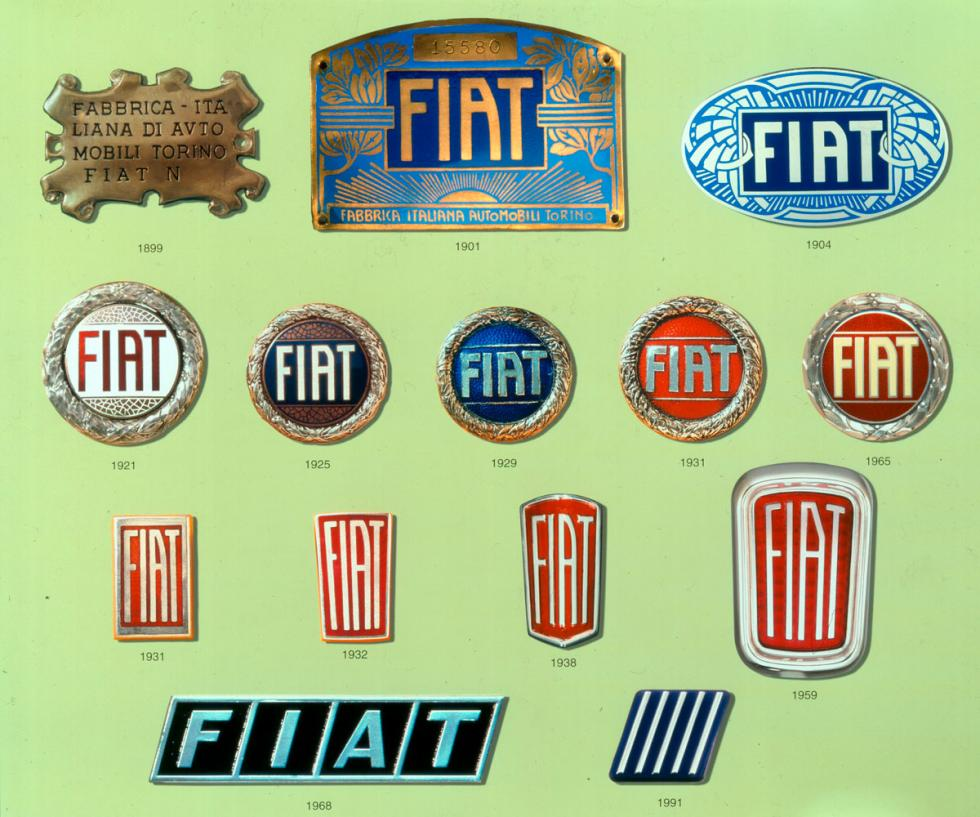 Fiat logo evolucion