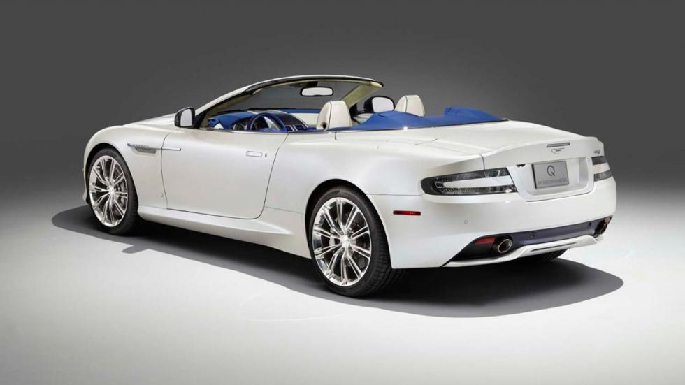 Aston Martin DB9 Volante Morning Frost - trasera