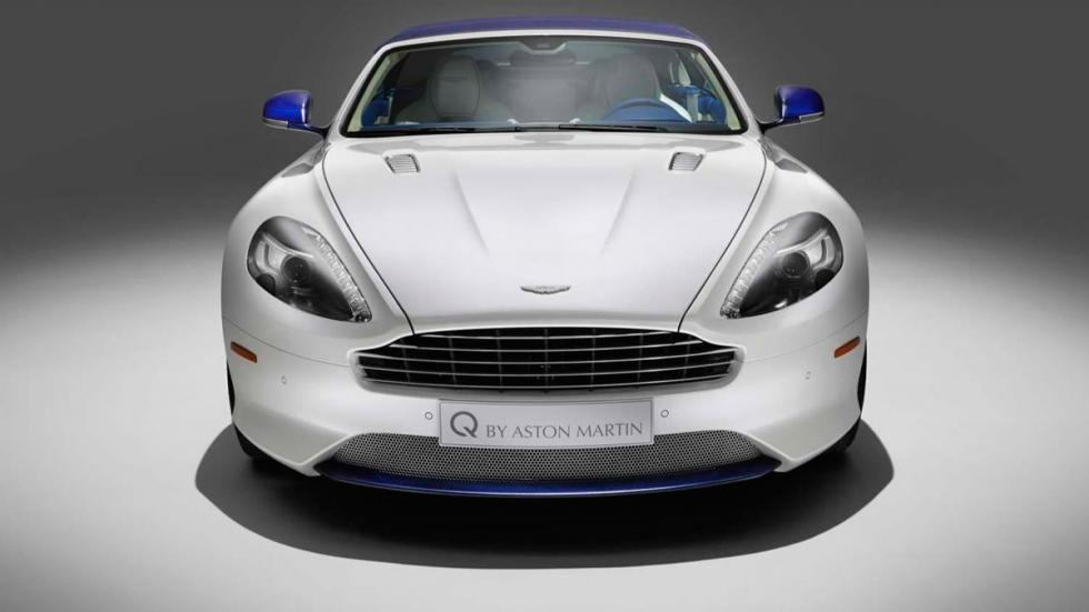 Aston Martin DB9 Volante Morning Frost - frontal