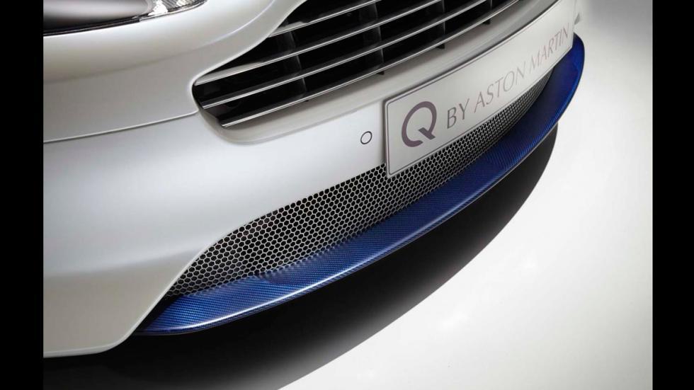 Aston Martin DB9 Volante Morning Frost - parrilla