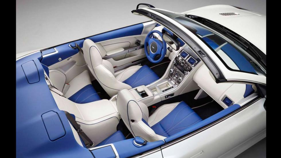 Aston Martin DB9 Volante Morning Frost -