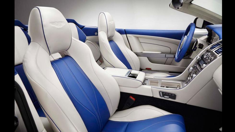Aston Martin DB9 Volante Morning Frost - asientos
