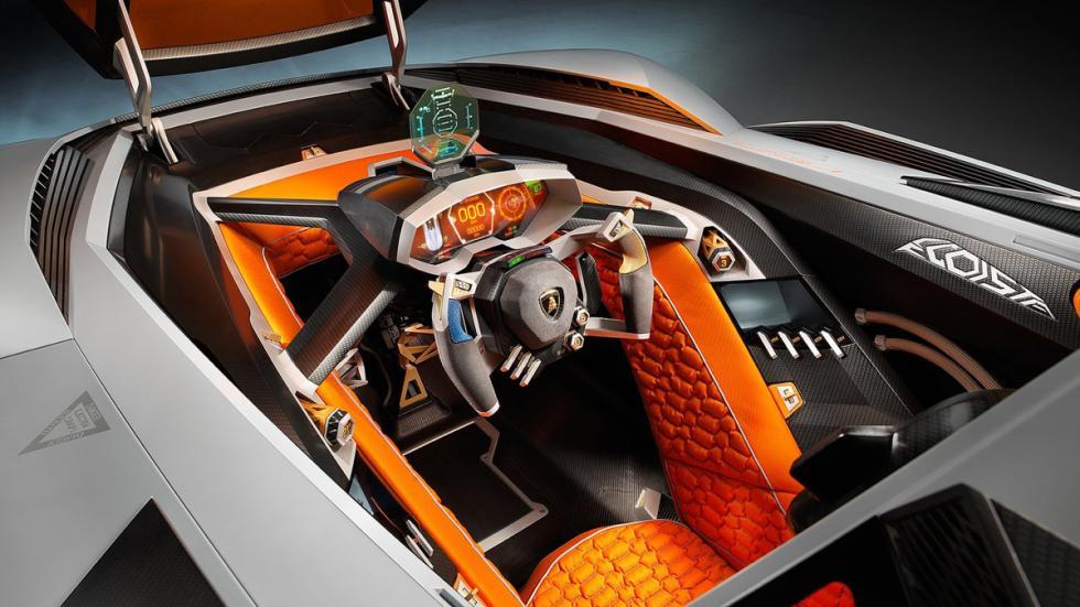 Cinco Lamborghini extremos Lamborghini Egoísta interior