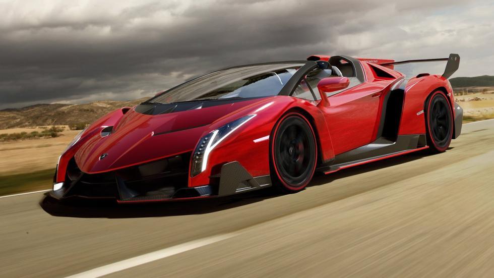 Cinco Lamborghini extremos Lamborghini Veneno Roadster