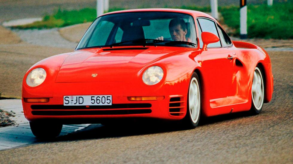 Porsche 959 delantera