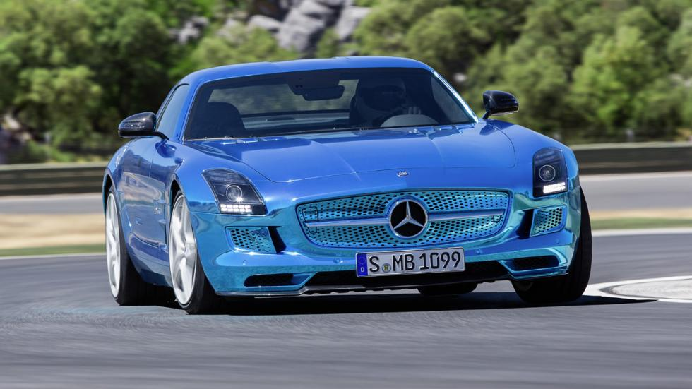 Cinco coches eléctricos extremos Mercedes SLS Electric Drive