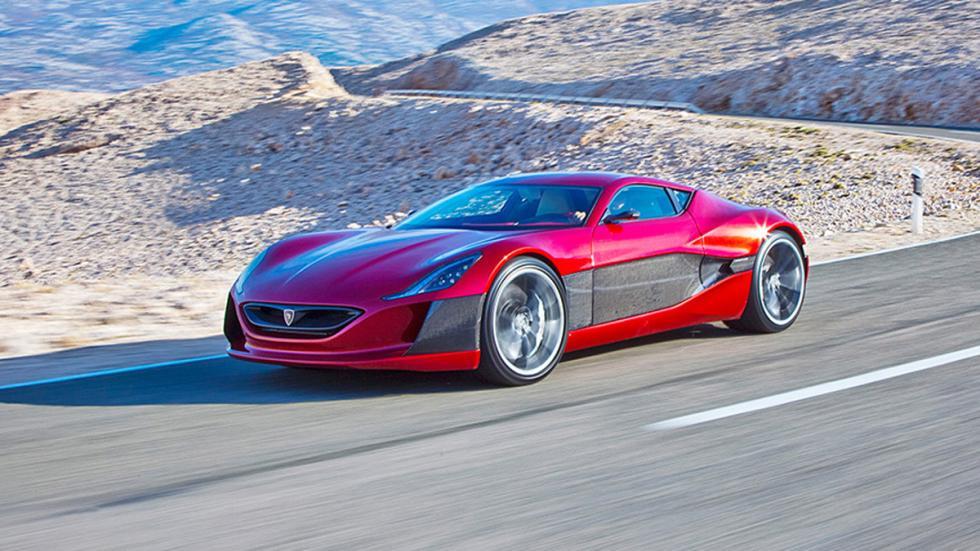 Cinco coches eléctricos extremos Rimac Concept_One lateral
