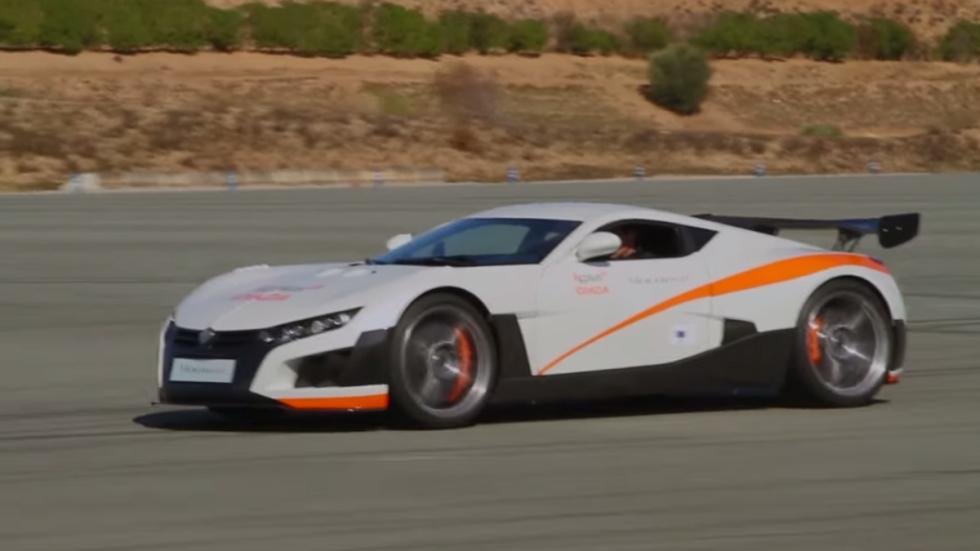 Cinco coches eléctricos extremos Volar-e lateral