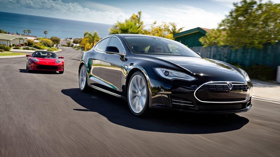 Cinco coches eléctricos extremos Tesla Model S P85D