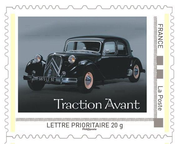 Sello Citroën Traction Avant