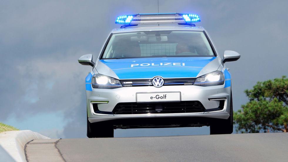 Golf-e Policía alemana detalle