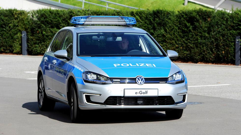 Golf-e Policía alemana movilidad dinámica