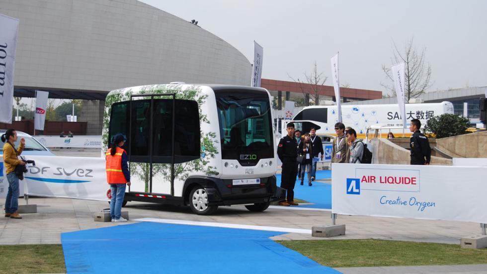 minibús eléctrico michelin challenge bibendum
