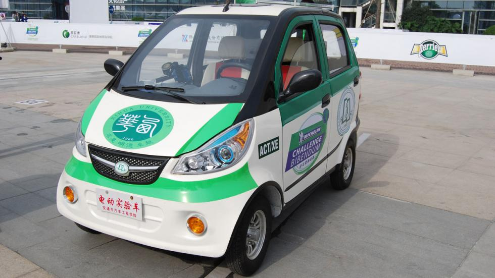 coche eléctrico chino michelin challenge bibendum