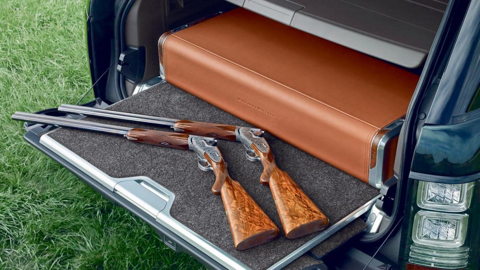 Suv más lujosos Range Rover maletero
