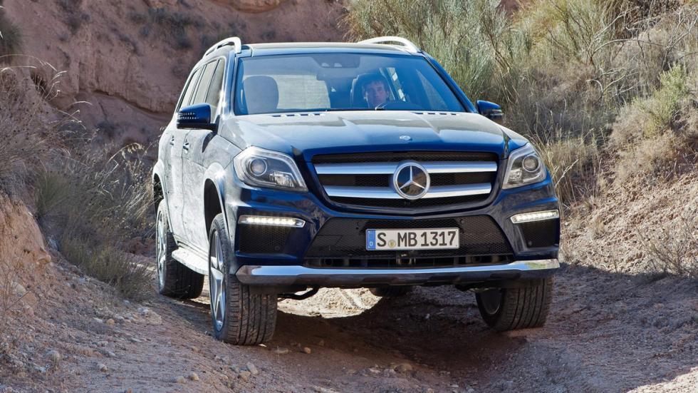Suv más lujosos Mercedes GL delantera