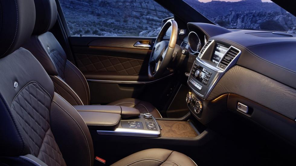 Suv más lujosos Mercedes GL interior